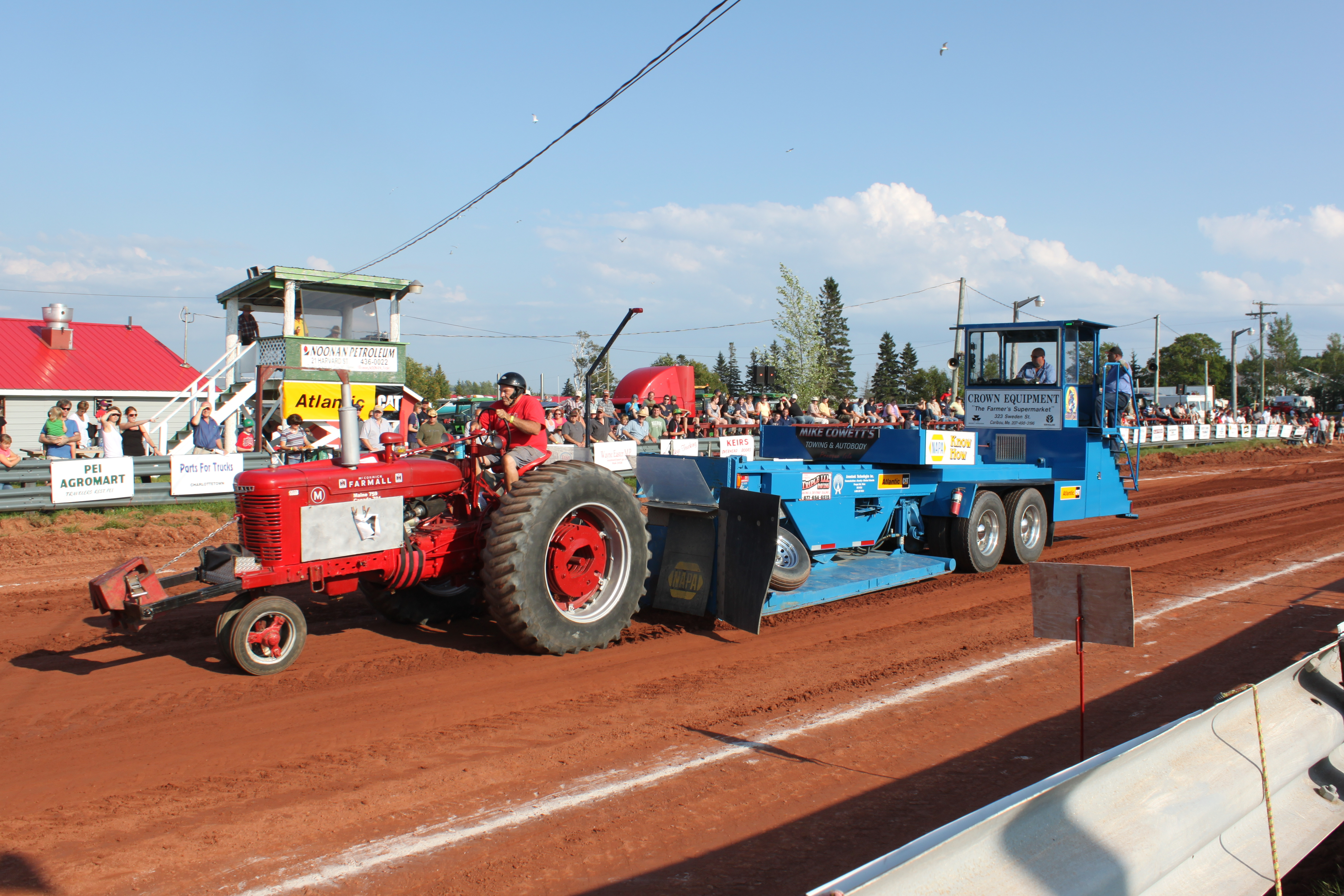 Tractor Pull Schedule : Pei truck tractor pull championships